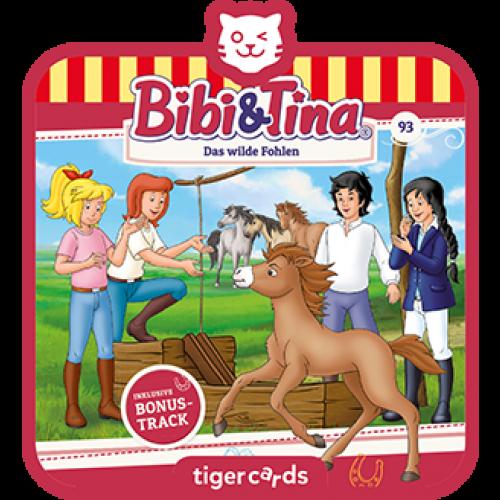 TIGERMEDIA tigercard: Bibi & Tina (93) - Das wilde Fohlen