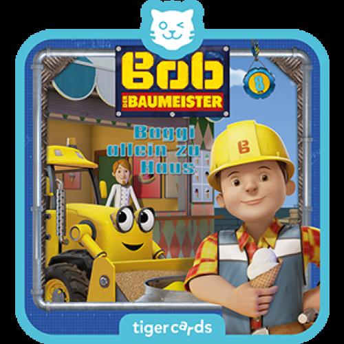 TIGERMEDIA tigercard: Bob der Baumeister (8) - Baggi allein zu Haus