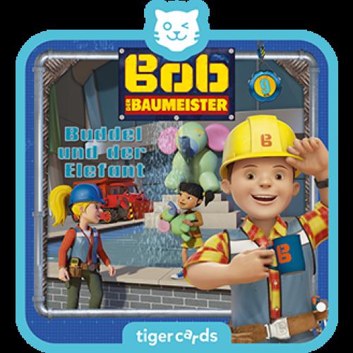TIGERMEDIA tigercard: Bob der Baumeister (9) - Buddel und der Elefant