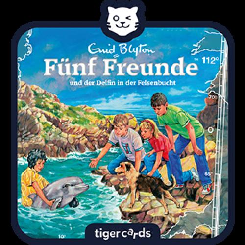 TIGERMEDIA tigercard: Fünf Freunde (112) - und der Delfin in der Felsenbucht