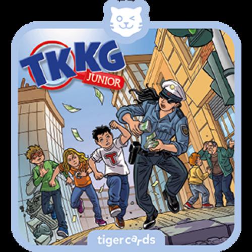 TIGERMEDIA tigercard: TKKG Junior (6) - Bei Anruf Abzocke