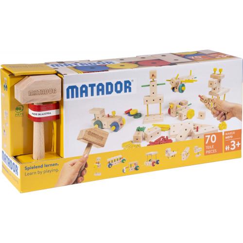 """MATADOR Baukasten """"Maker M070"""""""