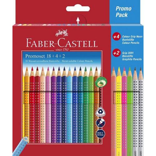 Faber-Castell Promoset Clour Grip 18+4+2