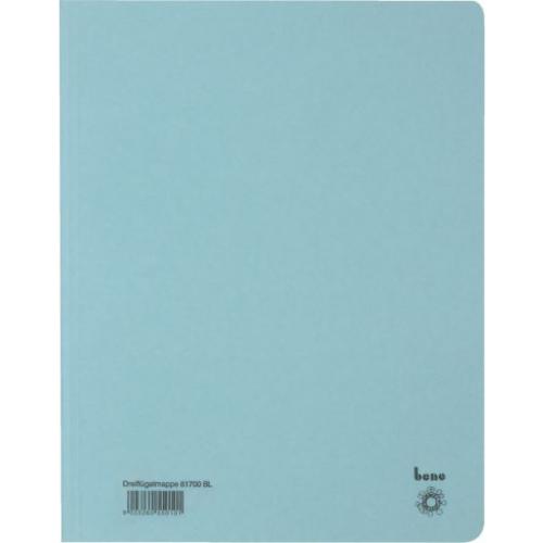 BENE Dreiflügelmappe 81700  A4 blau