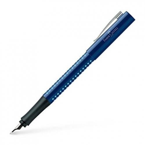 FABER CASTELL Füller Grip 2010 blue/lightblue