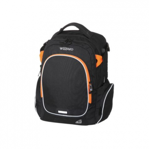 "WALKER Schulrucksack ""Campus Wizzard"" (Black Melange)"