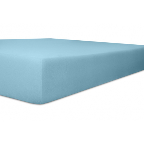 Kneer 22 Vario-Stretch Spannbetttuch 180x220cm blau