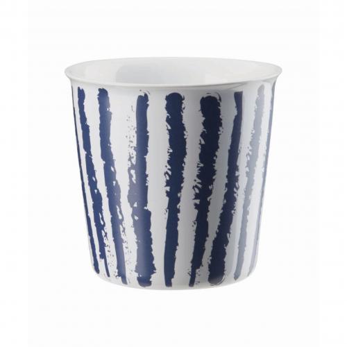 "ASA  Becher ""Lungo"" Coppetta , 250 ml (dark blue stripes)"