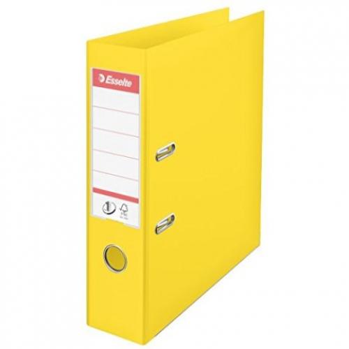 ESSELTE Ordner A4 7,5 cm gelb