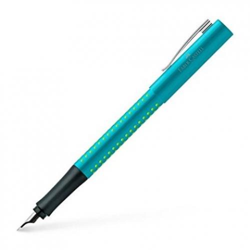 FABER-CASTELL Füller Grip 2010 turquoise/green