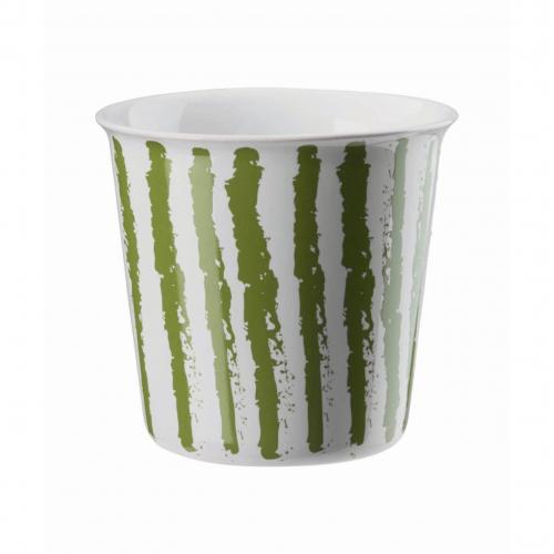 "ASA  Becher ""Lungo"" Coppetta , 250 ml (green stripes)"