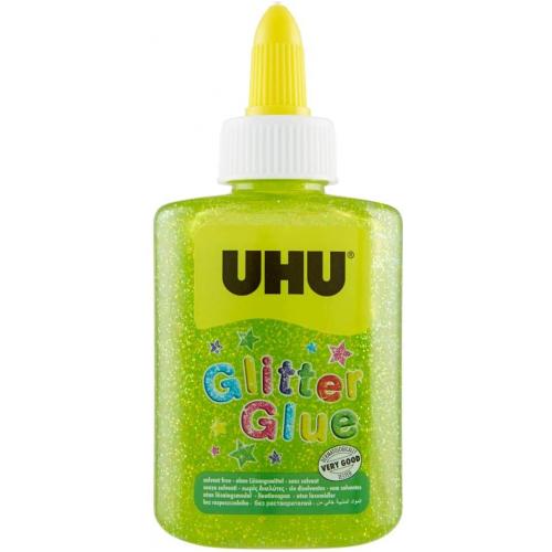 UHU Glitter Glue 90g/88,5ml (grün)