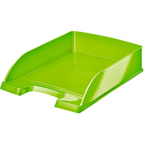 "LEITZ Plus Briefkorb ""WOW"" DIN A4 (grün)"