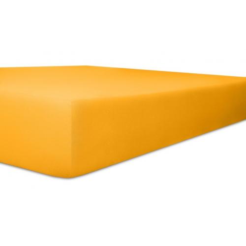 Kneer 50 Fein-Jersey Stretch-Betttuch 90x200cm honig