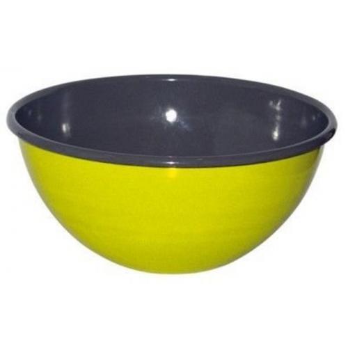 Riess KELOmat Design Obst & Salatschüssel, Ø 22 cm, 2,5 Lt (fresh lemon green)