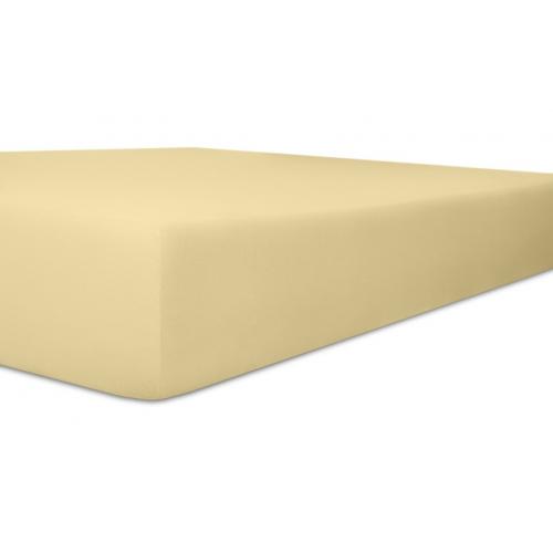 Kneer 50 Fein-Jersey Stretch-Betttuch 90x200cm kiesel