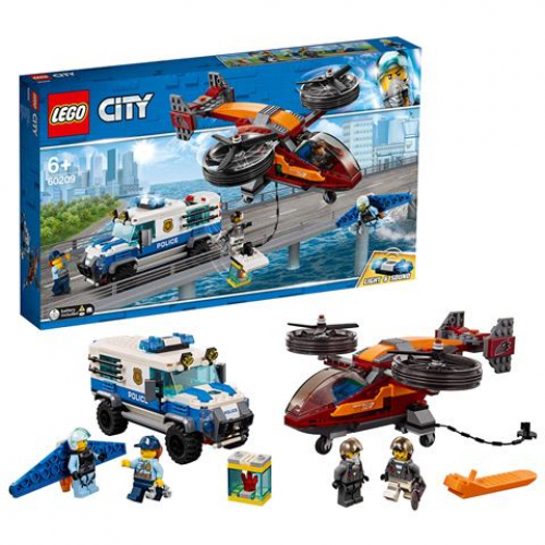 LEGO 60209 CITY - Polizei Diamantenraub