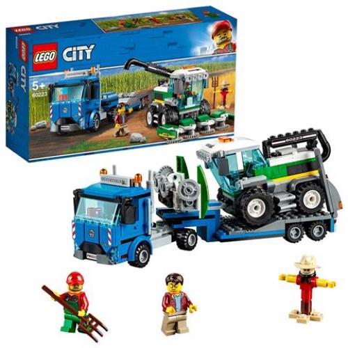 LEGO 60223 CITY - Transporter mit Mähdrescher