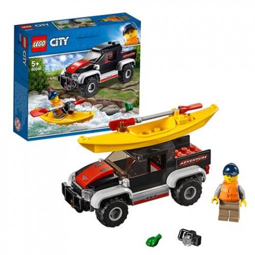 LEGO 60240 CITY -  Kajak-Abenteuer