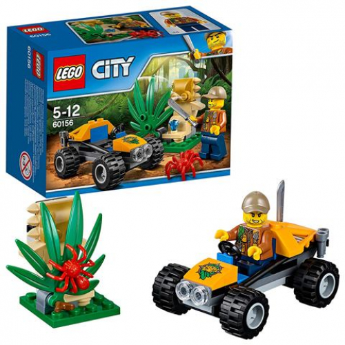 LEGO 60156 CITY -  Dschungel-Buggy