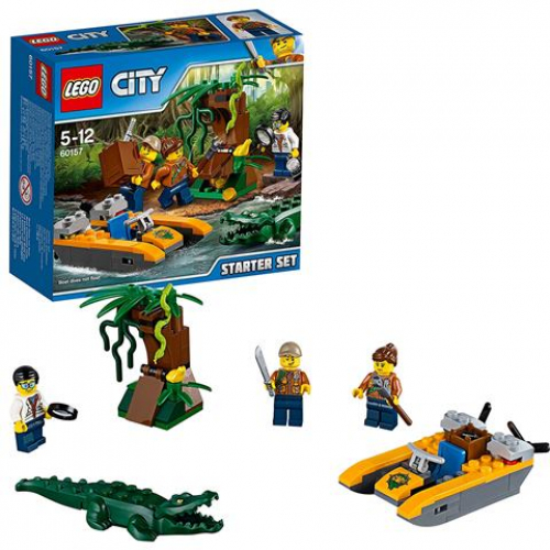 LEGO 60157 CITY -  Dschungel-Starter-Set