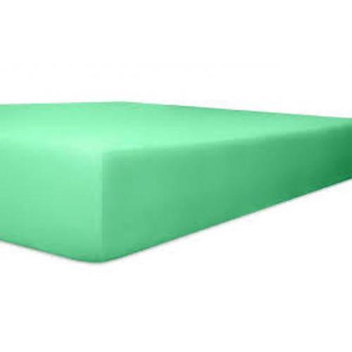 Kneer Qualität 93 *Exclusive-Stretch Spannbetttuch 180x200cm lagon