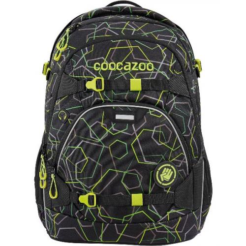 """COOCAZOO Schulrucksack """"ScaleRale"""" größenverstellbar (Laserbeam Black)"""