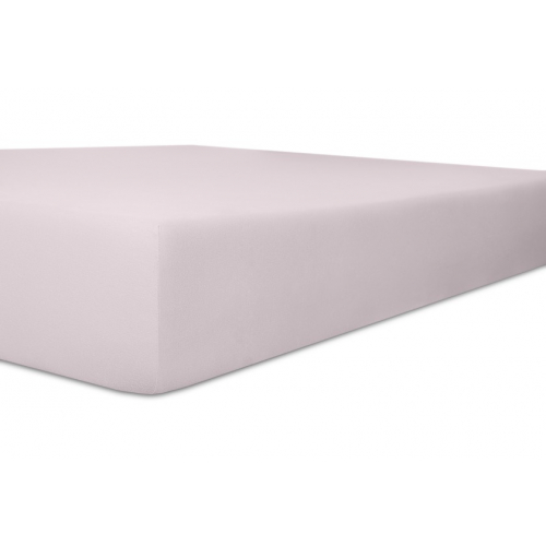 Kneer 50 Fein-Jersey Stretch-Betttuch 90x200cm lavendel