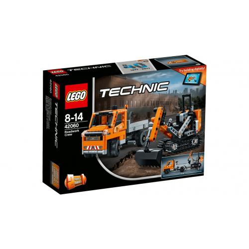 LEGO 42060 TECHNIC - Strassenbau-Fahrzeuge