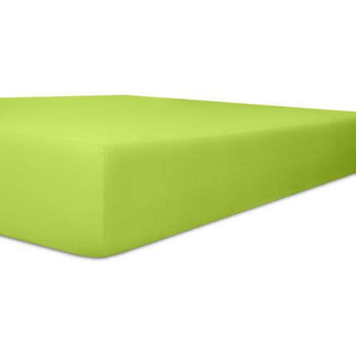 KNEER 50 FEIN-JERSEY STRETCH-BETTTUCH  180x200cm lemon