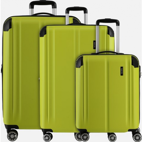 TRAVELITE 3er Trolley Set City (Limone)