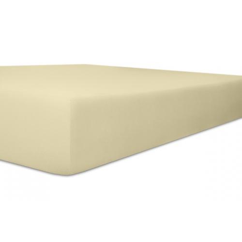 Kneer Qualität 93 *Exclusive-Stretch Spannbetttuch 180x200cm natur