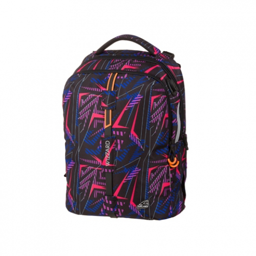 "WALKER Schulrucksack ""Elite Wizzard"" (Neon Lights)"