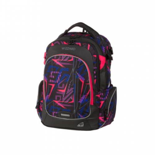 "WALKER Schulrucksack ""Campus Wizzard"" (Neon Lights)"