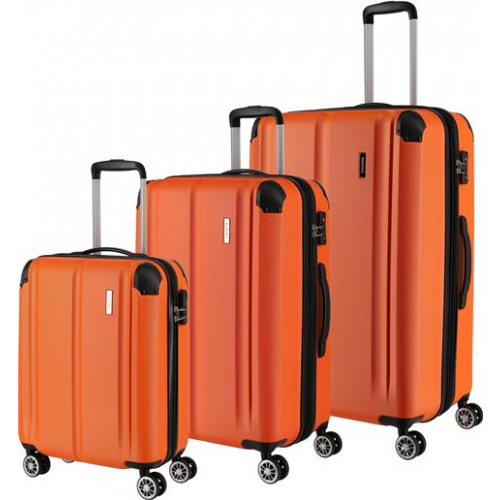 TRAVELITE 3er Trolley Set City