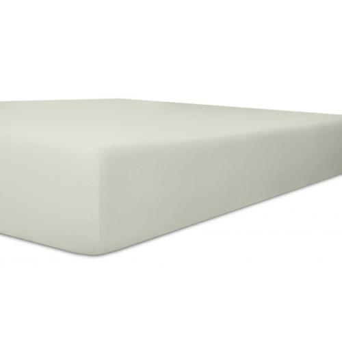 Kneer 50 Fein-Jersey Stretch-Betttuch 90x200cm platin