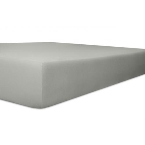 Kneer 22 Vario-Stretch Spannbetttuch 180x220cm platin