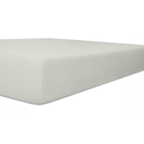 Kneer Qualität 93 *Exclusive-Stretch Spannbetttuch 180x200cm platin