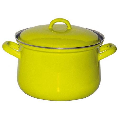 Riess KELOmat Design Fleischtopf mit Deckel, Ø 18cm, 2,5 Lt (fresh lemon green)