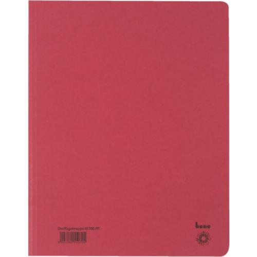BENE Dreiflügelmappe 81700  A4 rot