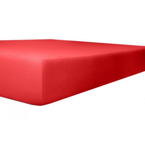 Kneer 22 Vario-Stretch Spannbetttuch 180x220cm rubin