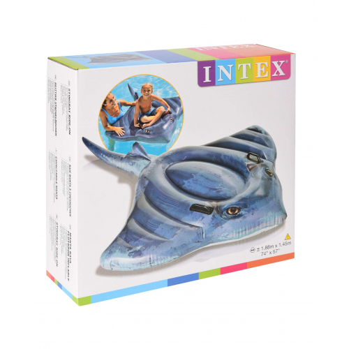 Intex Schwimmtier Rochen