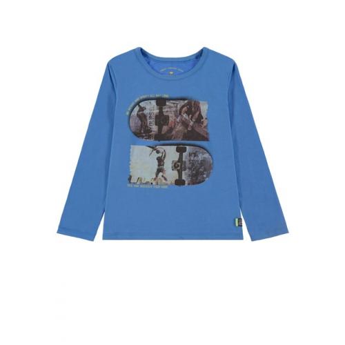 TOM TAILOR Mini Langarm-Shirt m. Photoprint (versch. Farben/Designs)