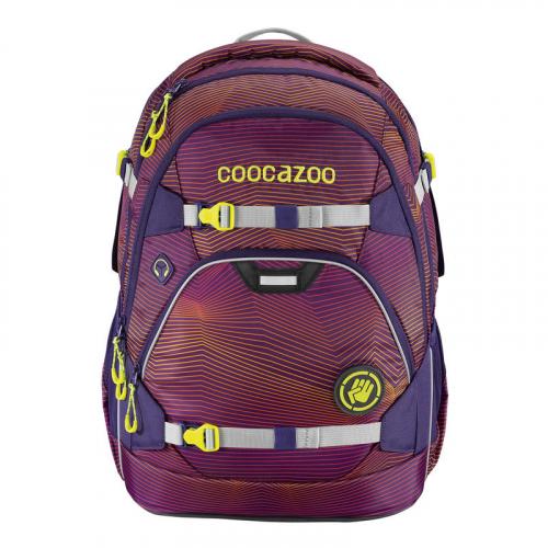 """COOCAZOO Schulrucksack """"ScaleRale"""" größenverstellbar (Soniclights Purple)"""