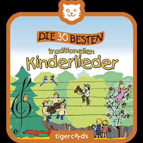 TIGERMEDIA tigercard: Die 30 besten traditionellen Kinderlieder