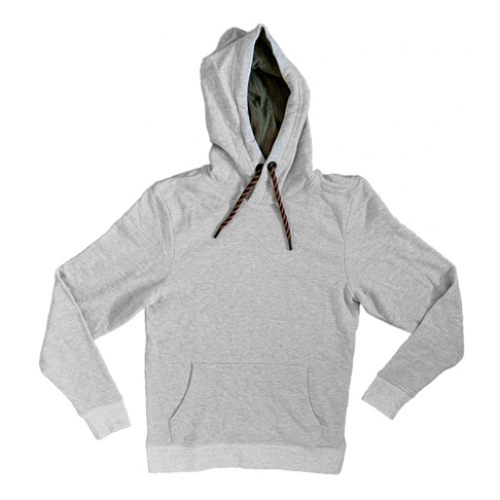 TOM TAILOR Herringbone Sweater with Hood