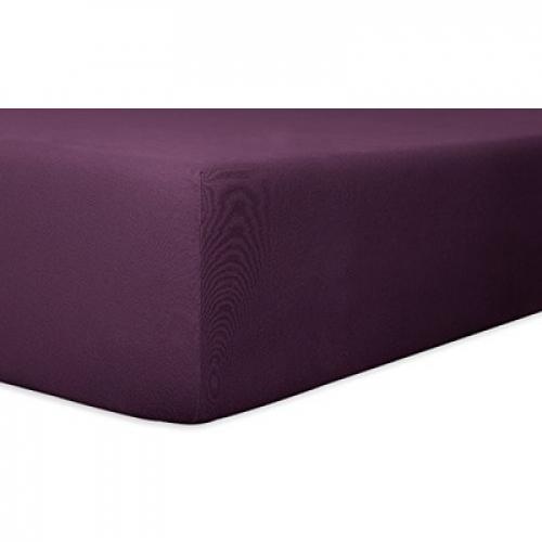 Kneer 22 Vario-Stretch Spannbetttuch 180x220cm violett