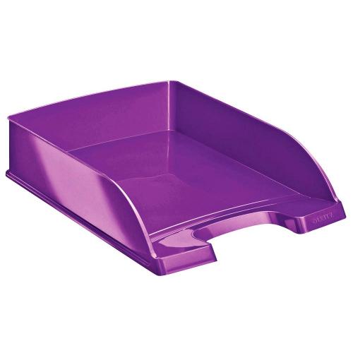 """LEITZ Plus Briefkorb """"WOW"""" DIN A4 (violett)"""
