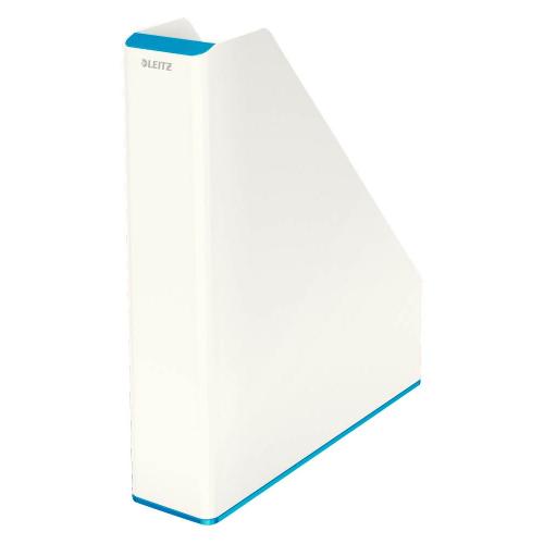 "LEITZ Stehsammler ""WOW"" zweifarbig DIN A4 (weiss/blau)"