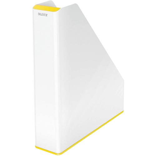 "LEITZ Stehsammler ""WOW"" zweifarbig DIN A4 (weiss/gelb)"